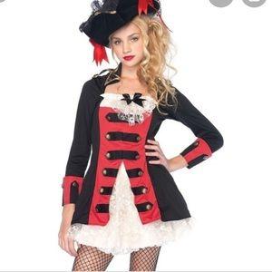 Leg Avenue Pirate Captain Waistcoat dress🏴☠️